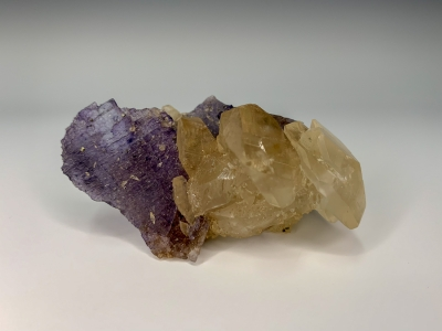 Calcite on Fluorite from Denton Mine, Harris Creek District, Southern Illinois USA [db_pics/ZowaderUpdates/DZ1601d.jpg]