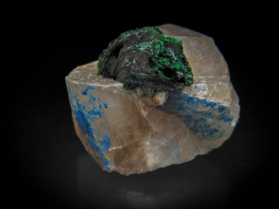 Malachite & Quartz from Otjikotu, Kaokoveld, Kunene, Namibia [db_pics/update3/ML00066a.jpg]