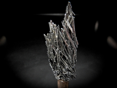 Stibnite from White Caps Mine, Manhattan, Nye County, Nevada, USA [db_pics/update3/ML00074a.jpg]
