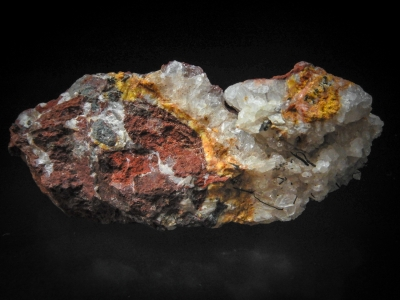 Wire Copper & Calcite from Red Dome Mine, Chillagoe, Queensland, Australia [db_pics/update3/ML00101a.jpg]