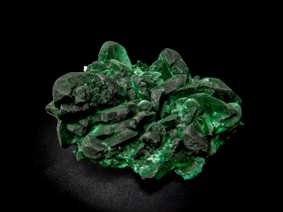 Malachite pseudo. after Azurite from Milpillas Mine, Municipo de Cananea, Sonora, Mexico [db_pics/update4/ML00129a.jpg]