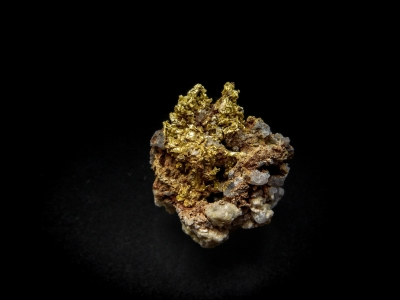 Gold from Belshazzer Mine, Boise Basin District, Boise County, Idaho, USA [db_pics/update4/ML00149a.jpg]