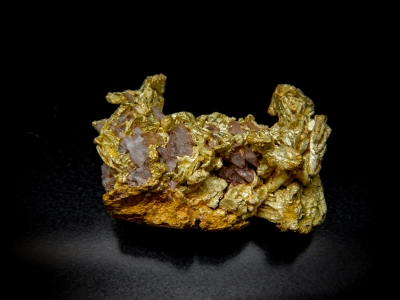 Gold from Lokel Mine, Pershing, County, Nevada, USA [db_pics/update4/ML00154a.jpg]