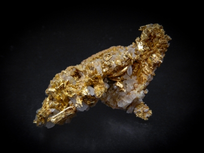 Gold from Round Mountain Mine, Nye County, Nevada, USA [db_pics/update4/ML00201a.jpg]