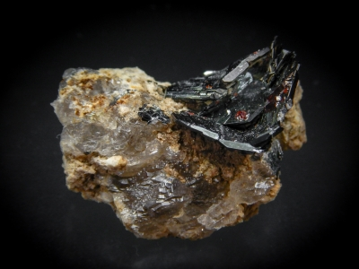 Hematite & Rutile from Cavradi, Tavetsch, Graubuenden, Switzerland [db_pics/update4/ML00213b.jpg]