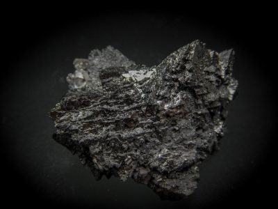 Hausmannite from N'Chwaning Mine, Kuruman, Cape Province, South Africa [db_pics/update4/ML00214a.jpg]