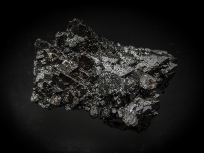 Hausmannite from N'Chwaning Mine, Kuruman, Cape Province, South Africa [db_pics/update4/ML00214b.jpg]