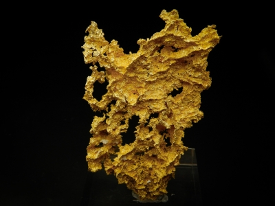 Gold from GG Prospect, Tuolumne County, California, USA [db_pics/update4/ML00241a.jpg]