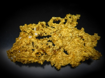 Gold from GG Prospect, Tuolumne County, California, USA [db_pics/update4/ML00241b.jpg]