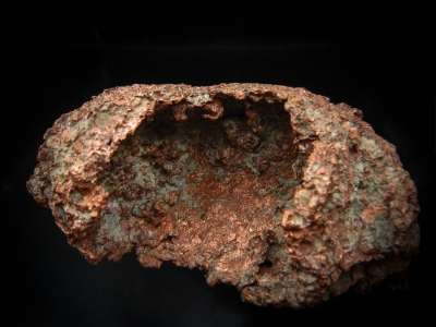 Copper (Skull) from Centennial #6 Mine, Centennial, Houghton Co., Michigan, USA [db_pics/update4/ML00245a.jpg]