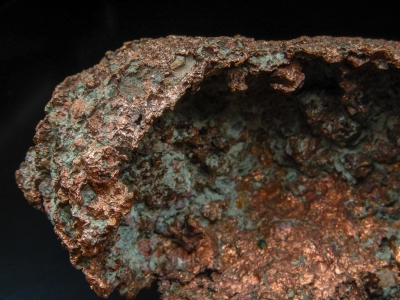 Copper (Skull) from Centennial #6 Mine, Centennial, Houghton Co., Michigan, USA [db_pics/update4/ML00245b.jpg]