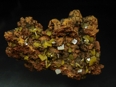 Wulfenite from Ojuela Mine, Mapimi, Durango, Mexico [db_pics/update5/ML00252a.jpg]