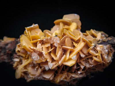 Wulfenite from Hilltop Mine, Cochise County, Arizona, USA [db_pics/update5/ML00258c.jpg]