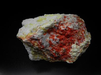 Cinnabar & Sulfur from Steamboat Hot Springs, Washoe County, Nevada, USA [db_pics/update5/ML00269a.jpg]