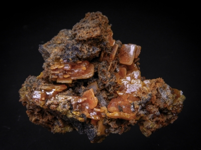 Wulfenite from Mobile Mine, Goodsprings, Clark County, Nevada, USA [db_pics/update5/ML00272a.jpg]