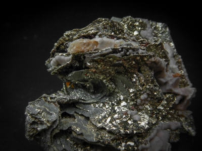 Pyrite & Pyrrhotite from Rosebud Mine, Pershing County, Nevada, USA [db_pics/update5/ML00274b.jpg]