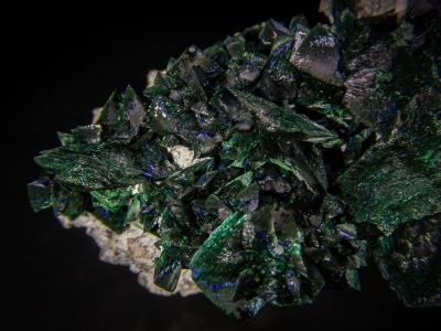 Malachite pseudo. Azurite from Milpillas Mine, Municipo de Cananea, Sonora, Mexico [db_pics/update5/ML00290d.jpg]