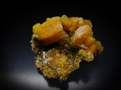 Pyromorphite from Bunker Hill Mine, Kellogg, Shoshone County, Idaho, USA [db_pics/update5/ML00307c.jpg]