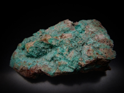 Ajoite from Ajo Mine, Ajo, Pima County, Arizona, USA [db_pics/update5/ML00312a.jpg]