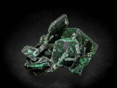 Malachite pseudo. Azurite from Red Dome Mine, Chillagoe, Queensland, Australia [db_pics/update5/ML00318a.jpg]