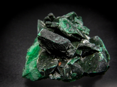 Malachite pseudo. Azurite from Red Dome Mine, Chillagoe, Queensland, Australia [db_pics/update5/ML00318b.jpg]