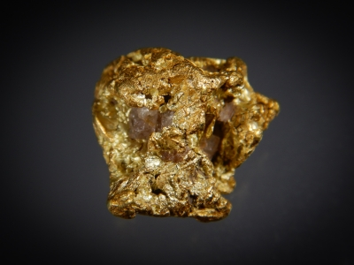Gold from Big Easy, Eugene Mountains, Pershing County, Nevada, USA [db_pics/update7/ML00479c.jpg]