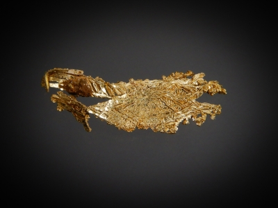 Gold from Round Mountain Mine, Nye County, Nevada, USA [db_pics/update7/ML00556b.jpg]