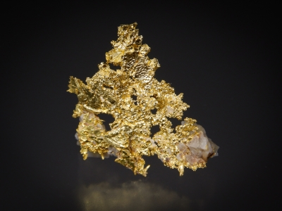 Gold from Louisiana Mine, Mariposa County, California, USA [db_pics/update7/ML00600a.jpg]