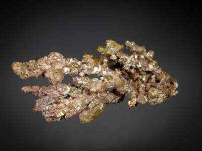 Copper with Gold from Andacollo Mine, Elqui Province, Coquimbpo Region (IV), Chile [db_pics/update7/ML00602a.jpg]