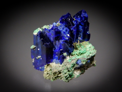 Azurite from Tsumeb Mine, Tsumeb, Namibia [db_pics/zowater/DZ0711a.jpg]