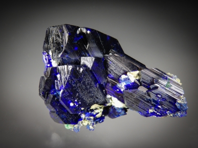 Azurite from Tsumeb Mine, Tsumeb, Namibia [db_pics/zowater/DZ1106a.jpg]