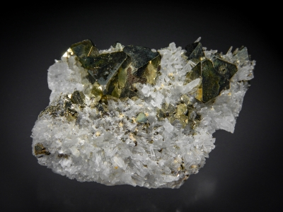 Pyrite on Quartz from Butte District, Silver Bow County, Montana, USA [db_pics/zowater/DZ2803a.jpg]