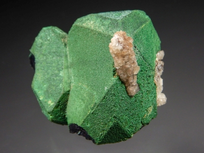 Cuprite with Malachite Coating from Emke Mine, Onganja, Africa [db_pics/zowater/DZ3306b.jpg]