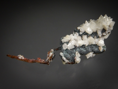 Copper with Calcite from Sverdlovskaya Oblast, Russia [db_pics/zowater/DZ3308.jpg]