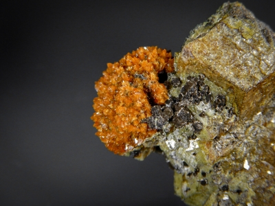 Helvine with Andradite from Huanggang Mine, Inner Mongolia, China [db_pics/zowater/DZ3612b.jpg]
