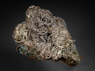 Silver on Acanthite from Imiter Mine, Quarzazate Province, Morocco [db_pics/zowater/DZ4205a.jpg]
