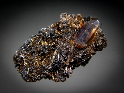 Goethite & Quartz from 2nd Mesabl Claim, Park County, Colorado [db_pics/zowater/DZ4911a.jpg]