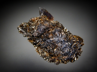 Goethite & Quartz from 2nd Mesabl Claim, Park County, Colorado [db_pics/zowater/DZ4911b.jpg]
