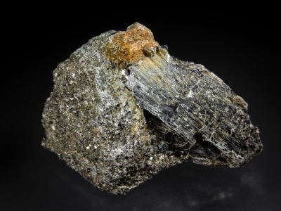 Clinochlore with Penninite from Tilly Foster Mine, Brewster, New York USA [db_pics/zowater/DZ5207a.jpg]